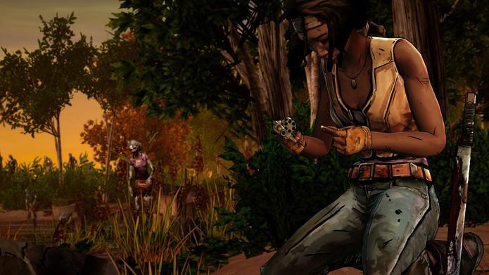 The Walking Dead: Michonne estreia primeiro episódio (Foto: Divulgação/Telltale)