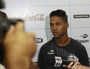 Wendell, lateral-esquerdo do Grêmio (Foto: Diego Guichard)
