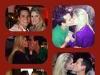 Ah, o amor! Monique Evans mostra vários beijos da filha com o namorado