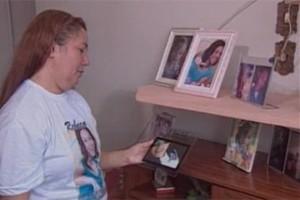 Tereza Cristina, mãe de Rebeca Cristina (Foto: Reprodução/TV Cabo Branco)