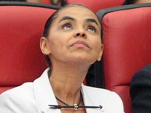 A ex-senadora Marina Silva durante sessão do TSE que analisa o registro da Rede (Foto: Nelson Jr./ASICS/TSE)