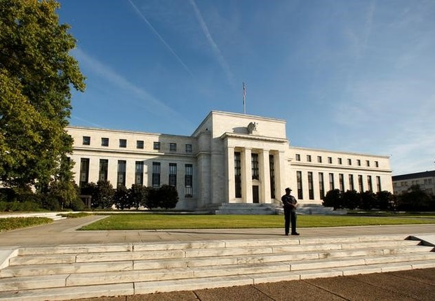 Prédio do Federal Reserve em Washington, Estados Unidos (Foto: Kevin Lamarque/Reuters)