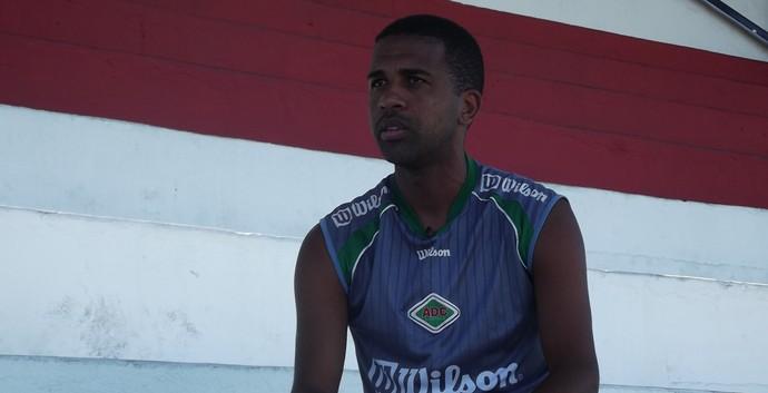 Entrevista com Leandro, cabofriense (Foto: Juan Andrade/ GloboEsporte.com)