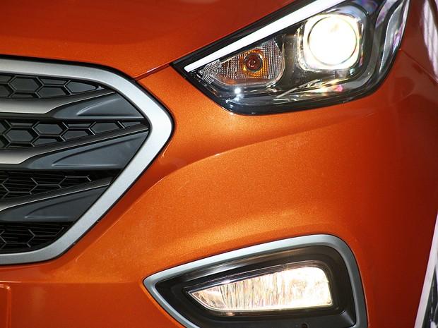 Detalhes do Hyundai ix35 (Foto: Divulgação)