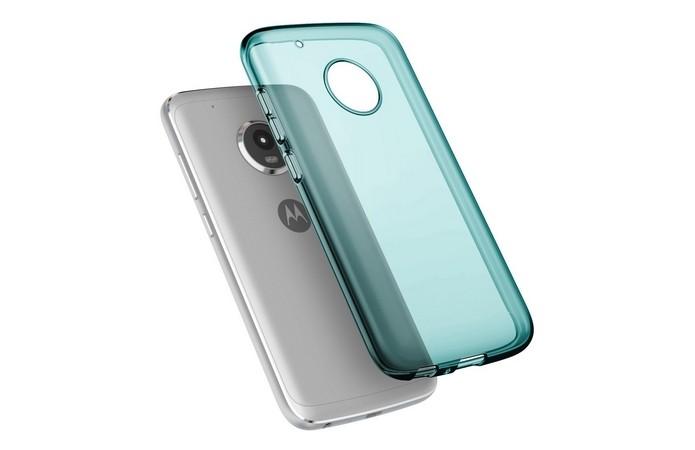 Capinha Grip com cor transparente para Moto G5 Plus (Foto: Divulgação/Cimo)