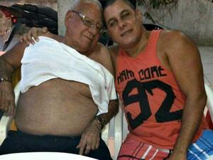 Magid Almeira foi enterrado no domingo (26) e o filho sofreu acidente no dia seguinte  (Foto: Arquivo da família)