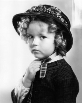 Shirley Temple em 1935 (Foto: Getty Images/Agência)