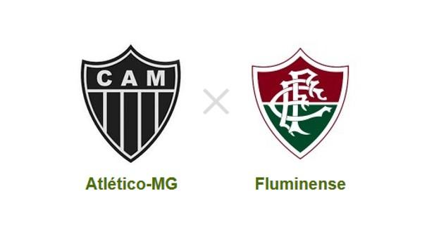 Atlético-MG e Fluminense se enfrentam em Belo Horizonte (Foto: Reprodução)