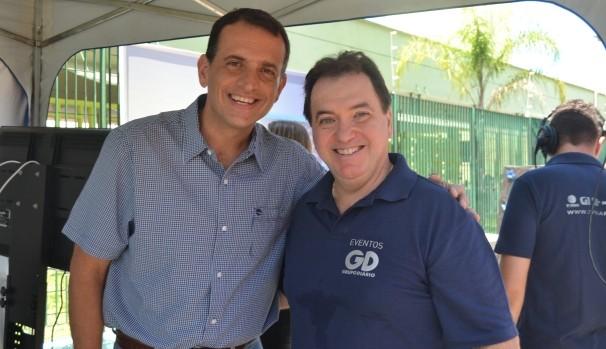 Marco Bertaiolli e Renato Concenza  (Foto: Reprodução / TV Diário)