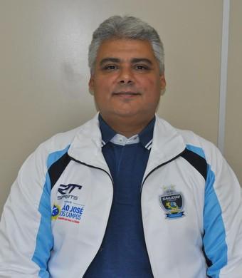 Leonardo Carvalho técnico São José Vôlei (Foto: Zaia Comunicação)