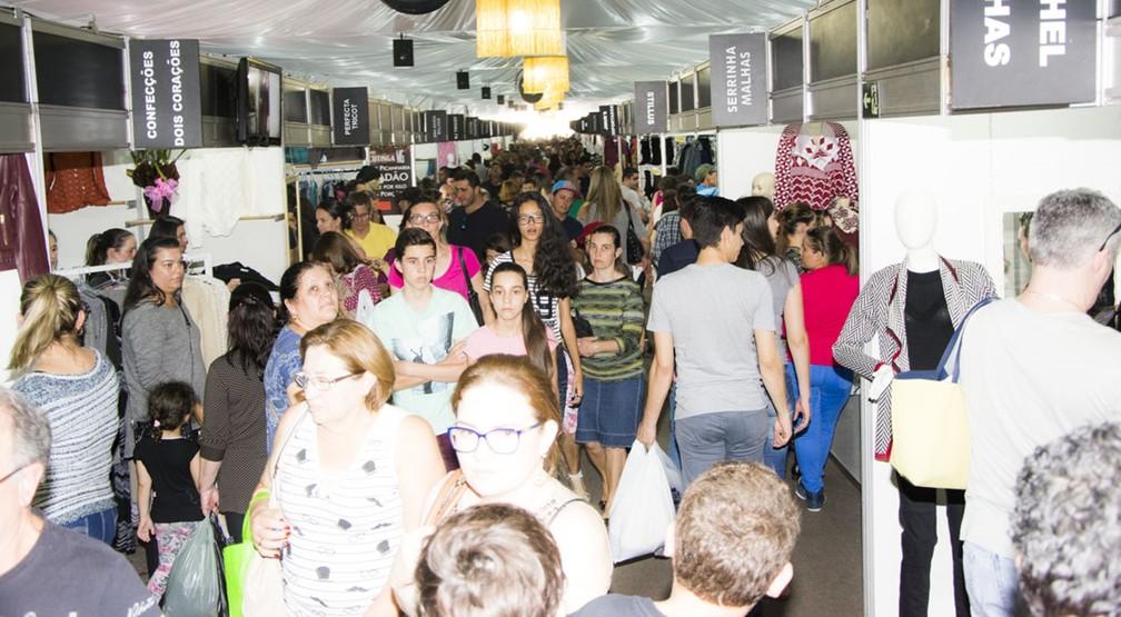 40ª edição da Fest Malhas apresenta novas coleções em Jacutinga (Foto: Ângela Facinni / José Tudisco Neto)