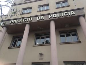 Palácio da Polícia, Porto Alegre (Foto: Paula Menezes/G1)