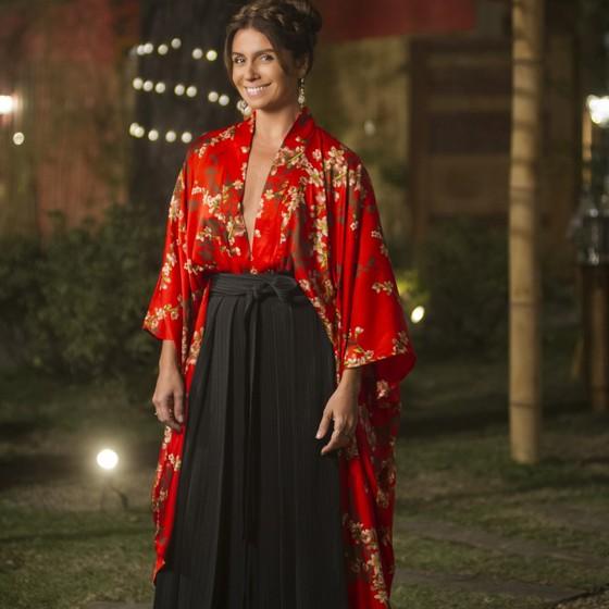 Sinônimo de estilo dentro e fora da TV, Giovanna lança tendências com suas personagens  (Foto: Divulgação)