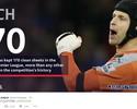 Líder e recordista: Petr Cech alcança marca histórica em vitória do Arsenal