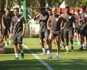 Seijas e D'Ale afinam parceria em 1º treino com bola de Zago no Inter