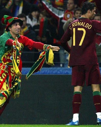 Jorge Franco torcedor português Campinas Cristiano Ronaldo (Foto: Divulgação)