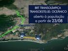 BRT Transolímpica será aberta à população carioca nesta terça-feira