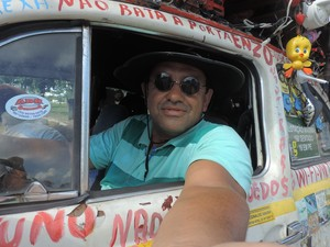 Vendedor passeia todos os dias por Sorocaba (Foto: Carlos Dias/G1)