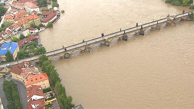 Na Baviera, águas dos rios chegaram ao nível mais alto desde o século 16 (Foto: BBC)
