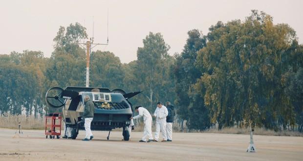Carmorant em testes em Israel (Foto: Urban Aeronautics/Tactical Robotics via AP)