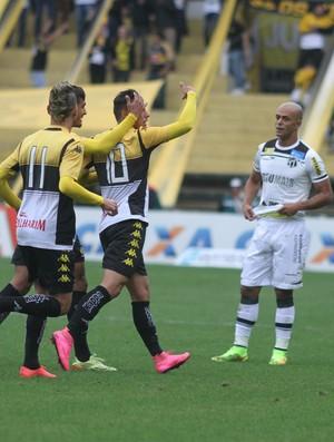 Dudu gol Criciúma (Foto: Fernando Ribeiro/Criciúma EC)