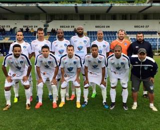 São José dos Campos FC elenco Copa Paulista (Foto: Divulgação/São José dos Campos FC)