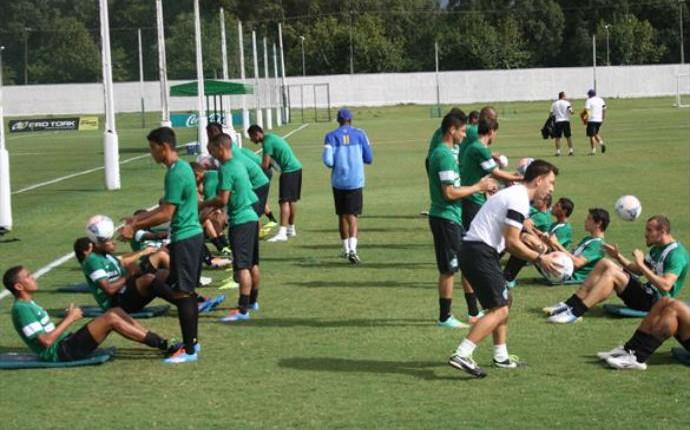 Treinamento do Coritiba (Foto: Divulgação/ Site oficial Coritiba)