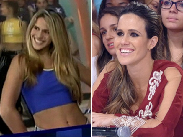 Fernanda Pontes_Montagem (Foto: TV Xuxa / TV Globo)