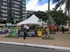 Manifestantes fazem protestos contra o governo Dilma pelo país