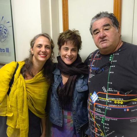 Letícia Isnard, Soraya Ravenle e Otávio Augusto (Foto: Divulgação)