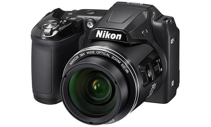Câmera Digital Nikon L840 vem com Wi-Fi embutido e NFC (Foto: Divulgação/Nikon)