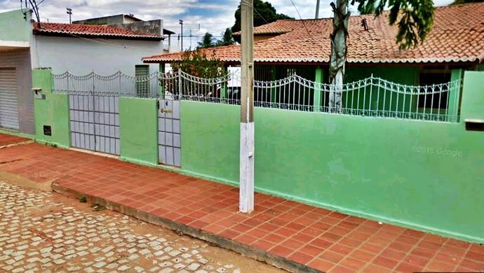 Casa do atleta do Assu - jogadores foram assaltados (Foto: Cedida)