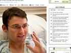 Americano que precisava de coração novo se recupera sozinho, diz jornal