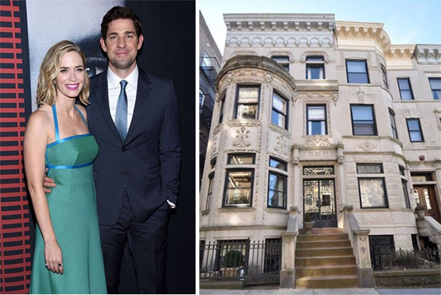 Emily Blunt e John Krasinski compram casa de US$ 6 milhões (Foto: Getty Images)