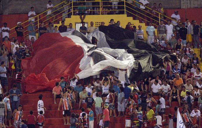 Campeonato Brasileiro Série D 2012: Aracruz x Volta Redonda (Foto: Simon Dias/Rádio ES)