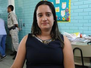 Superintendente de Atendimento ao Preso da Seds MG, Louise Bernardes (Foto: Flávia Cristini/G1)