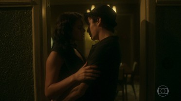 Davi e Beatriz se encontram