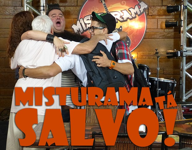 Romulo salvou o Misturama!! (Foto: Malhação / TV Globo)