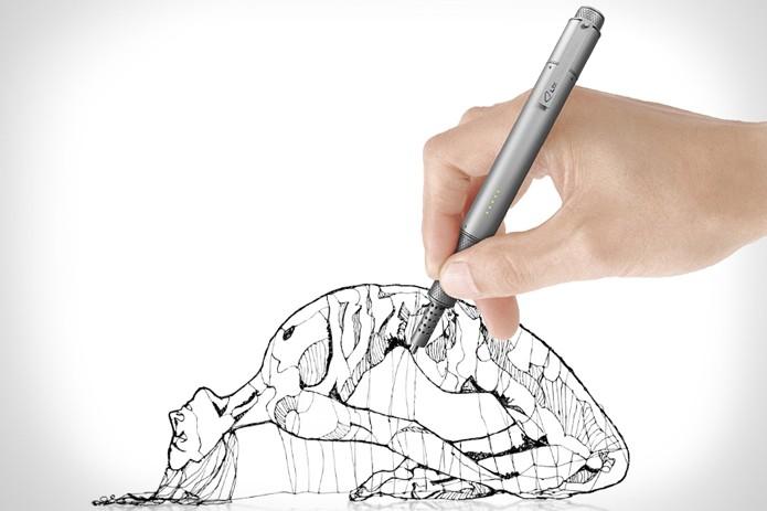 Com a Lix 3D, você pode desenhar sem precisar de um papel (Foto: Divulgação/Lix)
