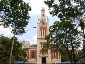 Catedral Metropolitana de Ribeirão Preto (Foto: Reprodução/EPTV)