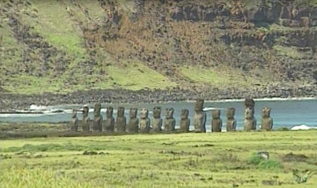 Ilha de Pscoa  um dos destinos explorados pelo especial (Foto: Reproduo)