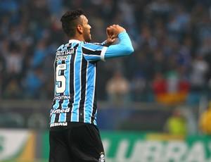 grêmio santos copa do brasil arena souza gol (Foto: Lucas Uebel/Grêmio FBPA)