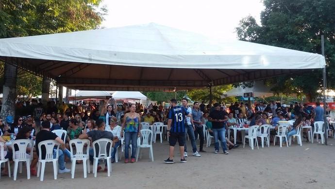 FeijoASA, Movimento Alvinegro (Foto: Amandha Nunes/Arquivo Pessoal)