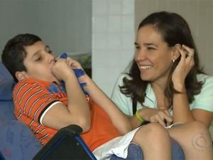 Famílias da Paraíba pedem na justiça o direito de usar canabidiol no tratamento dos filhos (Foto: Reprodução / TV Cabo Branco)