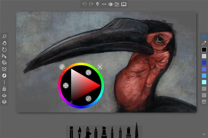 Sketchable, crie pinturas e desenhos (Foto: Reprodução/André Sugai)
