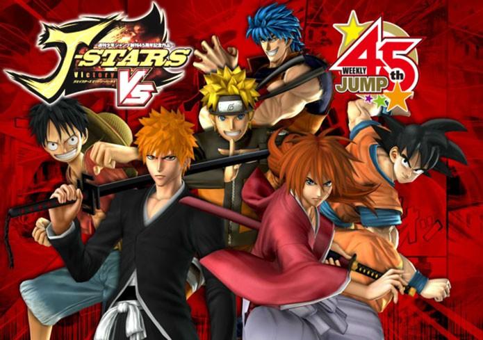 J-Stars Victory Vs tem muitos heróis de animes no elenco (Foto: Divulgação)