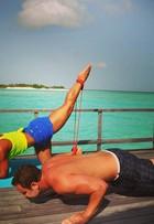 Personal trainer de Mayra Cardi ensina a manter a forma em viagens