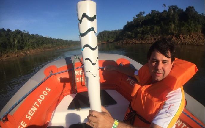 Tocha Foz do Iguaçu (Foto: Pedro Veríssimo)