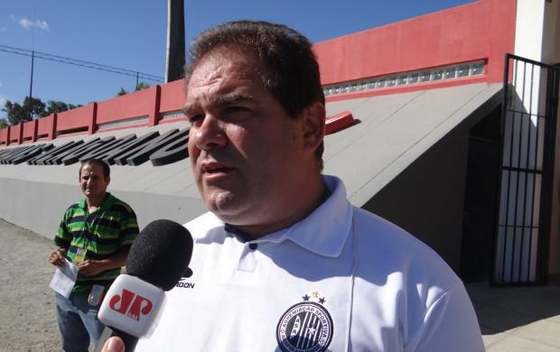 Marcelo de Jesus, supervisor do ASA (Foto: Leonardo Freire/GLOBOESPORTE.COM)