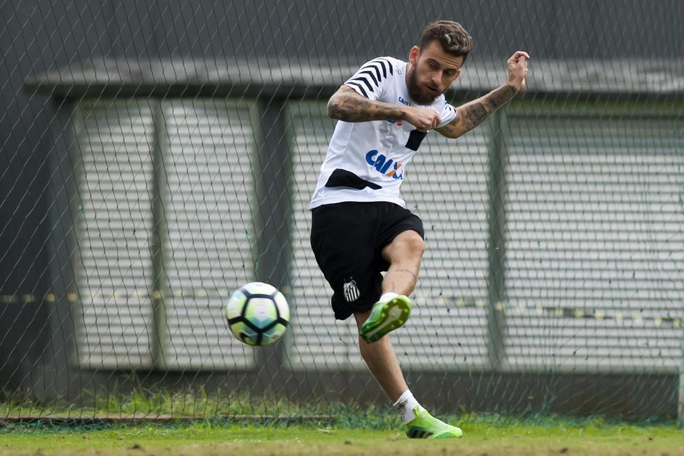 Lucas Lima desfalcará o Santos contra o Corinthians (Foto: Ivan Storti/ Santos FC)